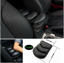 Black Car Armrest Center hand armrest pad cover Console Pad Cushion Support Box