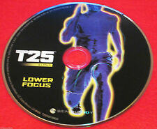 FOCUS T25 Alpha - LOWER FOCUS DVD - Brand new - 1 DVD only