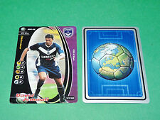 FOOTBALL CARD WIZARDS 2001-2002 DAVID JEMMALI GIRONDINS BORDEAUX PANINI