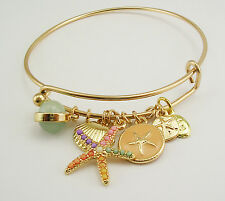 Joan Rivers  Star Fish Bracelet  Petite to Average  PINK Multi