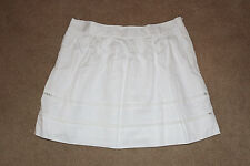 NWT GAP WOMENS White Pintuck PLEATED SKIRT 8