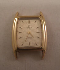 Vintage Omega De-Ville Quartz. NOT WORKING. DeVille. MISSING CROWN/STEM REPAIR