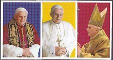 Vatikan 3 amtliche Ganzsachen ** Wahl Papst Benedikt XVI. 2005