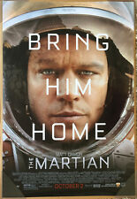 THE MARTIAN MOVIE POSTER 1 Sided ORIGINAL FINAL 27x40 MATT DAMON RIDLEY SCOTT
