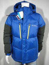 COLUMBIA Omni-Shield Omni-Wind Alaskan 900-Fill Power Goose Blue/Black size XL
