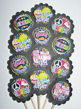 Roller Skating  Cupcake Toppers/Party Picks  Item #1209 Skate Birthday Party