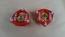 FIAT 128 BERTONE X1/9 127 FRONT CAMBER PLATES SHOCK TOP MOUNT SPHERICAL BEARING