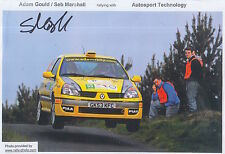 Seb Marshall Hand Signed Promo Card Rally 1.