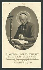 Estampa antigua de San Andrea Uberto andachtsbild santino holy card santini