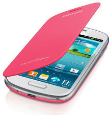 Genuine Samsung GT-I8190N ( NFC ) Flip Case Cover for Galaxy S3 Mini - PINK