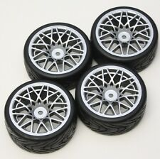 R/C  Sport 1/10 Scale Rims and Tires RC Car Pre-Glued !  4 Tec HPI