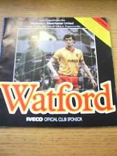 17/04/1984 Watford v Manchester United  (Faint Fold). No obvious faults, unless