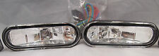 UNIVERSAL 12V H3 55W FOG LIGHTS DRIVING LAMPS HARNESS SET PAIR CIVIC ACCORD