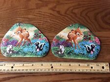 Disney BAMBI with Thumper and Flower Fabric Iron On   Appliques
