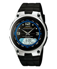 CASIO AW-82-1AV Outgear Ana-Digi Fishing Mode 10 Year Battery Resin Strap Black