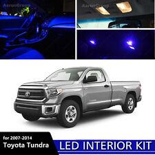 14PCS Extra Blue Interior LED Bulbs for 2007- 2014 Toyota Tundra