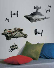 STAR WARS REBELS and IMPERIAL SPACE SHIPS wall stickers MURAL 9 decal room decor