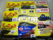 NEW IN PACKAGE 10 PACK SET- NETBAIT, ROBOWORM,JELLY WORM,CAL SHAD- 101 PCS SET 1