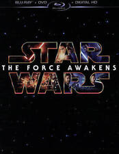Star Wars: The Force Awakens (Blu-ray/DVD 3 DISC 2016) FREE SHIPPING