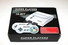 Super Players - Snes Console - Multi Region - PAL/NTSC - 60hz - 2 Pads - NEW