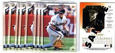1X JT SNOW 1998 Leaf Fractal Materials #53 PROMO SAMPLE NMMT Bulk lot available