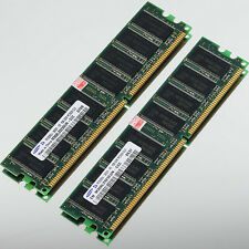Samsung Low Density 2GB 2x 1GB DDR333 PC2700 333MHZ NON-ECC 184PIN DIMM memory