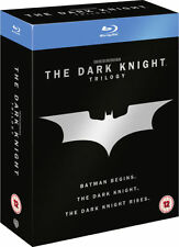 ❏ The Dark Knight Trilogy Blu Ray + EXTRA CONTENT ❏ Batman Begins Rises Nolan