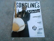 APRIL/MAY 2008 SONG LINES music magazine TOUMANI DIABATE - CHINES OPERA
