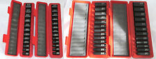 "Tekton 50Pc. 3/8"" Drive 12-Point DEEP/SHALLOW Impact Socket Set SAE/METRIC"