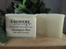 Shampoo Bar - Oily Hair Formula - Handcrafted - Vegan - Organic - Natural