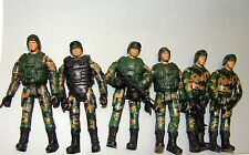 1:18 Peace Keeper Marine Figures Soldier Squad fit Elite Force Gi Joe BBI 21st