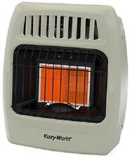 Kozy World KWP212  12,000 BTU 2 Plaque PROPANE Infrared Vent Free Wall Heater