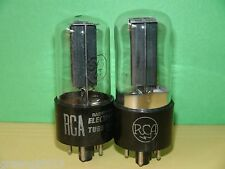 2 RCA 5Y3 GT  Vacuum Tubes Balanced  ~ Results = 1720/1710 2270/2120 1942 & 1943