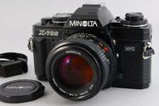Near MINT Minolta New X-700 MPS Camera with MD ROKKOR 50mm F/1.4 Lens from Japan