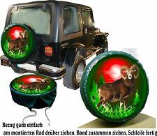 Muflone Caccia Cacciatore Jeep Camion Copertura Ruota Rivestimento Gomma Per
