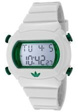 Adidas ADH9002 Candy Unisex White Rubber Bracelet With Digital Dial Watch