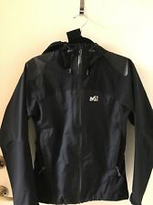 Millet Gore-Tex Paclite Shell Women's Full Zip Hooded Jacket Black Size S