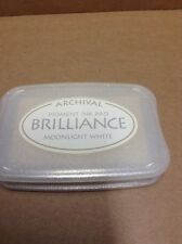 "Archival Brilliance ""Moonlight White"" Ink pad"