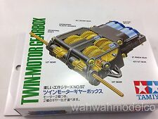 Tamiya #70097 Twin Motor Gearbox Set For RC DIY Construction/Robotics Model Kit