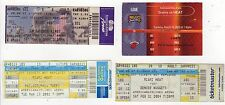 NBA MIAMI HEAT TICKET STUB LOT Basketball SIXERS Nuggets 76ERS Kings FLORIDA