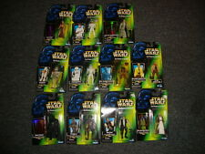 Star Wars The Power of the Force Lot of 13 Figures Luke Darth Vadar Chewbacca