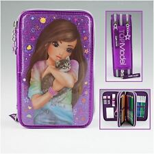 TOPModel Filled Pencil-Case Triple,  Friends Violet