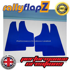 Mud Flaps to fit FORD FIESTA MK7 ZETEC S (2008-2012) RallyflapZ  Blue 4mm PVC