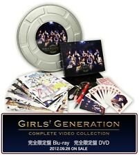 GIRLS' GENERATION VIDEO COLLECTION (3Bluray) First Press Limited Edition