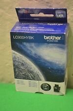 Genuine Brother LC900HYBK High Yeild LC900 LC900HY BK Black - Date 2012