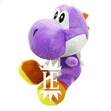 SUPER MARIO BROS. YOSHI VIOLA PELUCHE 17 CM PUPAZZO plush doll new violet purple