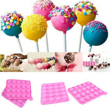 20 Sticks Cake Pop Mould Silicone Lollipop Chocolate Mold Baking Tray Tools