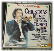 Classical Christmas Music for Organ and Trumpet Ludwig Guttler CD 1990