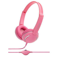 Pink Streetz Fashionable Headphones Groov-e GV897-PK with Volume Control Color