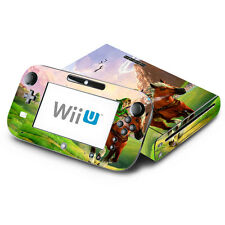 Skin Decal Cover for Nintendo Wii U Console & GamePad - Zelda Ocarina of Time
